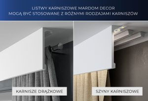 Mardom Decor listwa karniszowa QL026